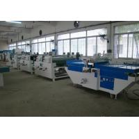 China Curtain Coating Machine For Painting Wood /High Gloss Kitchen Cabinets wholesale