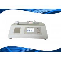 China ASTM D1894 ISO8295 Computerized Coefficient Of Friction Tester For Plastic Film wholesale