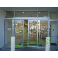China Automatic Sliding Door With Aluminum Frame, Automatic Aluminum Office Door, Glass door on sale