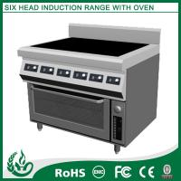 China Newest design Stainless steel electric range 6 burner wholesale