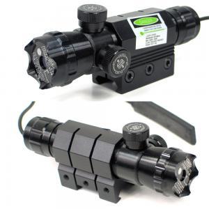 China Dot Spot Tactical Flashlight Laser / Tactical Green Laser Flashlight Combo wholesale
