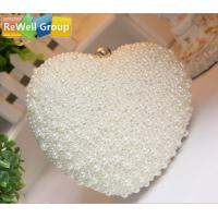 China Pearl Hand Ladies Leather Bags Noble Dress Bride for Banquet wholesale