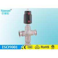 China 63mm 2.5 2-1/2 actuator sus316 cf8m stainless steel angle seat valve wholesale