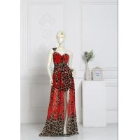 China Sleeveless Halter Backless Sexy Evening Gowns , Women's Floor Length Dresses wholesale