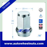 China Heat Treatment 19mm Hex Chorme Acorn Wheel Lug Nuts With Conical Seat wholesale