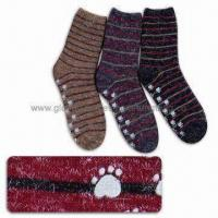 China Non-Slip Warm Socks, Customized Sizes and Designs are Welcome wholesale