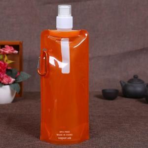 China Custom Aluminum Foil Liquid Spout Bags Food Grade Fruit Juice Package on sale
