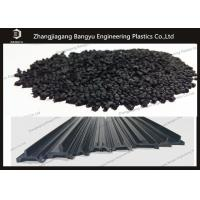 China High Strength PA66 GF25 Granules Black Color For Nylon Insulation Strips wholesale