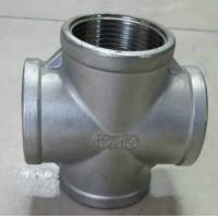 China DN15 5 Way Cross Hot Galvanized Malleable Iron Pipe Fitting wholesale