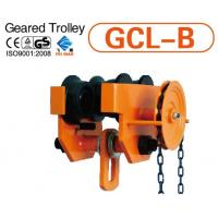 BLOCK AND TACKLE GEARED TROLLEY