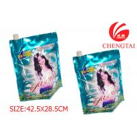 China Rotogravure Printing Packaigng Stand Up Pouch with Spout for Detergent wholesale