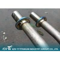 Quality Customized GR1 Titanium Heat Exchanger Tube / Pipe Coaxial Type for sale
