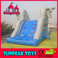 China WL-1836 New Outdoor Commercial Inflatable Water Slides,Inflatable Aqua Slide With Discount on sale