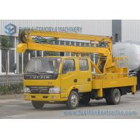 China 14M Articulated Booms High Altitude Operation Truck IVECO Yuejin Double Row Cabin wholesale