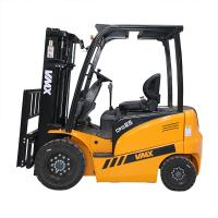 China VMAX MAX lift height 6000mm electric Battery forklift 2500kg load capacity with cartis controller wholesale