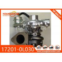 China CT16 Auto Turbocharger 17201-0L030 , TOYOTA Engine Turbocharger 2KD - FTV wholesale