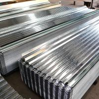 Buy cheap Hot Dipped Galvanized Steel Roof Tile Building Roof Tiles 0.22*665*2440mm Zinc from wholesalers