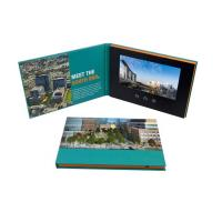 China Advertising promotion video brochure card 7 inch 7inch in print lcd screen book digital catalog wholesale