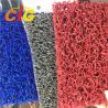 China Colored Looping Yarn PVC Floor Covering Carpet Rolls , Door Floor Mats 1.22m X 18m wholesale