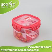 China New Design 3 in 1 Set Plastic Lock and Seal Food Container with Lid wholesale