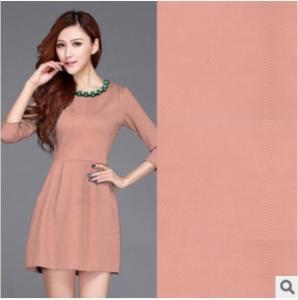China Weft 75D Elasticity Twill Knitted fabrics Women suit fabrics wholesale