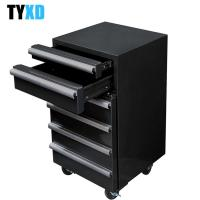 China Cold Rolled Steel Rolling Tool Cabinet , 6 Drawer Metal Tool Box wholesale