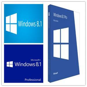 China Original Windows 8.1 Pro OEM License , Windows 8.1 Download 64 Bit For PC wholesale