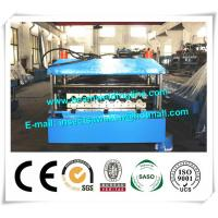 China Metal PU Sandwich Panel Production Line Steel Floor Decking Forming Machine wholesale