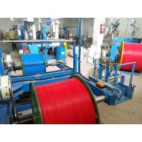 China 0.5 Mm2 Copper Wire And Cable Extrusion Machine With Mitsubishi Belt wholesale