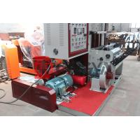 China LDPE Extruder PP Film Blowing Machine 40gk/H With Two Colors Printing wholesale
