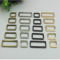 China Wholesale Factory Made Thickness 3.5 MM Zinc Alloy Metal Square Buckle For Handbag wholesale
