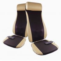 China Golden PU Leather Electric Massage Cushion Shiatsu Massage Chair Cushion wholesale