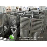 China Metal Air Conditioning Window Unit Small Exterior Cover  Facade Cladding Bending wholesale
