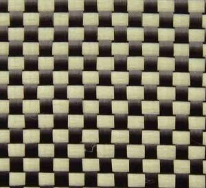 China Carbon Kevlar hybrid fabric wholesale