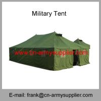 China Wholesale Cheap China Military Green Outdoor Camping Emergency Police Army Tent wholesale