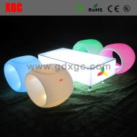 Buy cheap Outdoor Lighting Led Square Hollow Stool Plastic Rolling Stool For KTV / from wholesalers