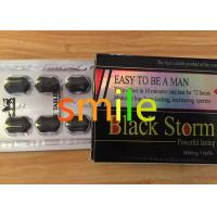 China Powerful Male Libido Enhancer Black Storm Anti ED Herbal Male Enhancement Products wholesale