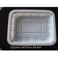 China 222*170mm Custom Plastic Food Trays Suitable For Sealing Film Cover wholesale