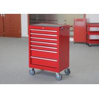 China 7 Drawers Warehouse Storage Mechanic Tool Cabinet On Wheels Color Customizable wholesale