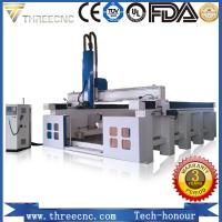 China high speed!Car Molding 5 Axis CNC Router/CNC 5 Axis Carving Machine TM2040S THREECNC wholesale