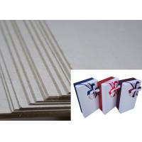 China Two Side Grey Solid and Hard Stiffness Grayboard Package Box Used Board wholesale