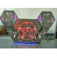China P5 Full Color LED Dj Booth With Multi Screens / Adjustable Brightness For Bar Club wholesale