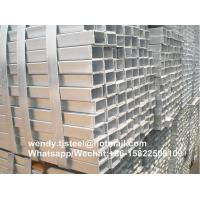 Quality cheap ERW hot dipped zinc coating welded square /rectangular/round carbon galvanized steel pipe for sale