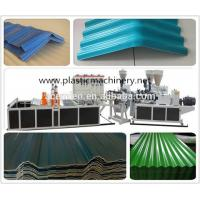 China popular plastic roofing tile extrusion machine wholesale