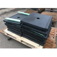 China Gray Iron Material Crusher Toggle Plate Customized Size For Ore Mining wholesale