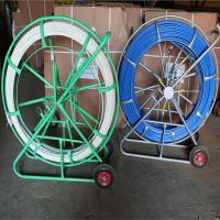 China FRP fiberglass duct rodder, Tracing duct rods made of fiberglass on sale