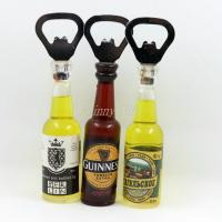 China Shinny Gifts Promo Gifts Bottle Opener with Fridge Magnet Sticker wholesale