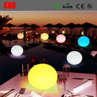 Buy cheap Waterproof LED Light Ball For Party, Hotel Decoration/Battery Waterproof  Plastic LED Glowing Decoration Light Up Balls from wholesalers