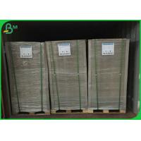 China 600gsm 640*900mm Recycled Pulp Board , Grey Board Sheets For Packaging Boxes on sale