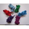 China Custom printed rainbow design Nylon / polyester shoe lace , running shoe laces wholesale